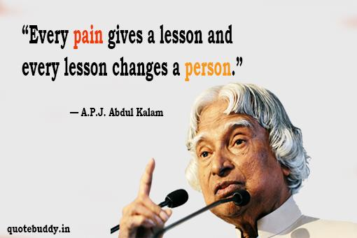 abdul kalam thoughts