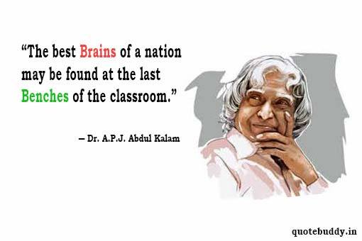 images of abdul kalam with quotes
