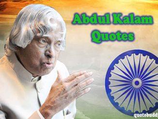 Kalam quotes